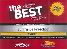 KING5 Best of Western Washington logo